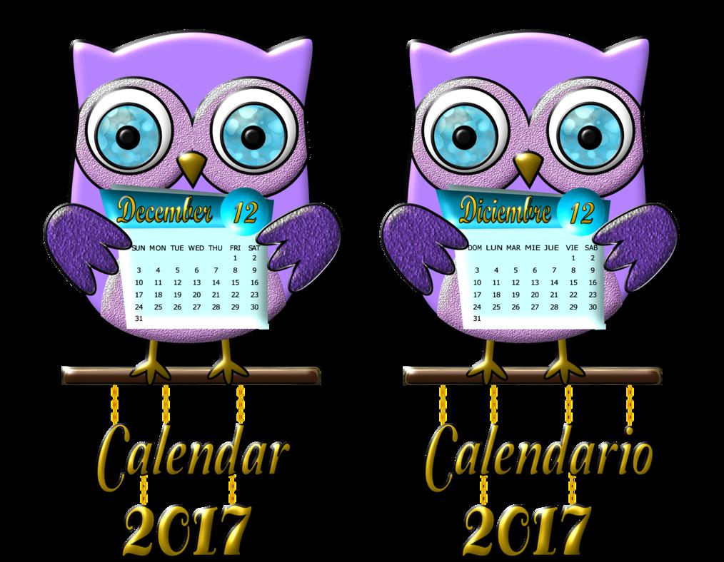 Diciembre-calendario-2017 by bbvzla