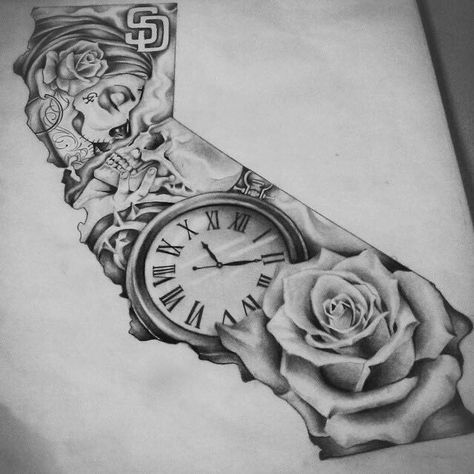 52 Ideas Tattoo Ideas For Guys Sketches Half Sleeves Pocket Watches For 2019 In 2020 Sleeve Tattoos Tattoos Tattoo Sleeve Designs