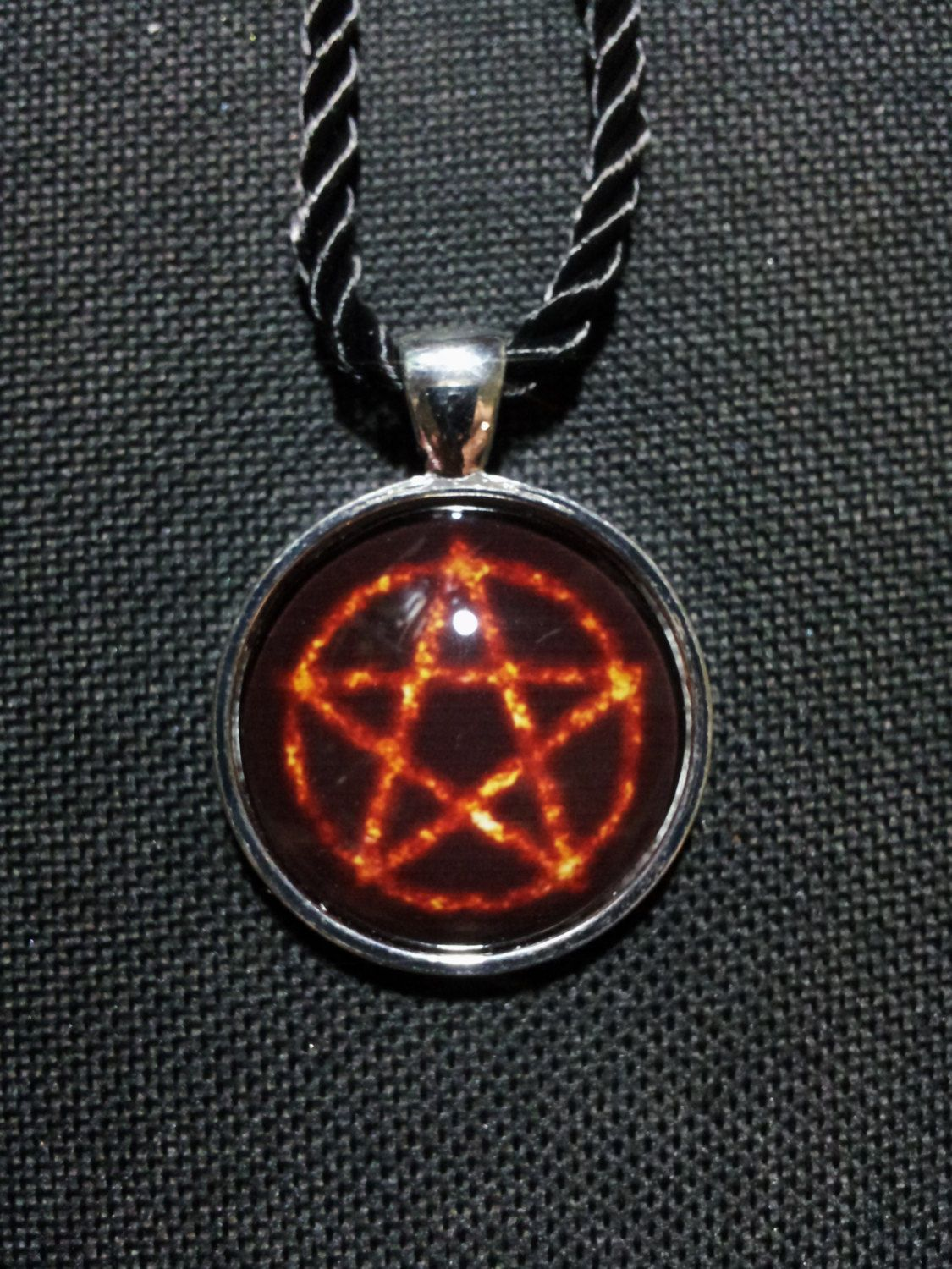 Burning pentacle necklace free shipping earth air fire water burning pentacle necklace free shipping earth air fire water pentacle spiritual jewelry wiccanpagan jewelry protection pendant aloadofball Choice Image