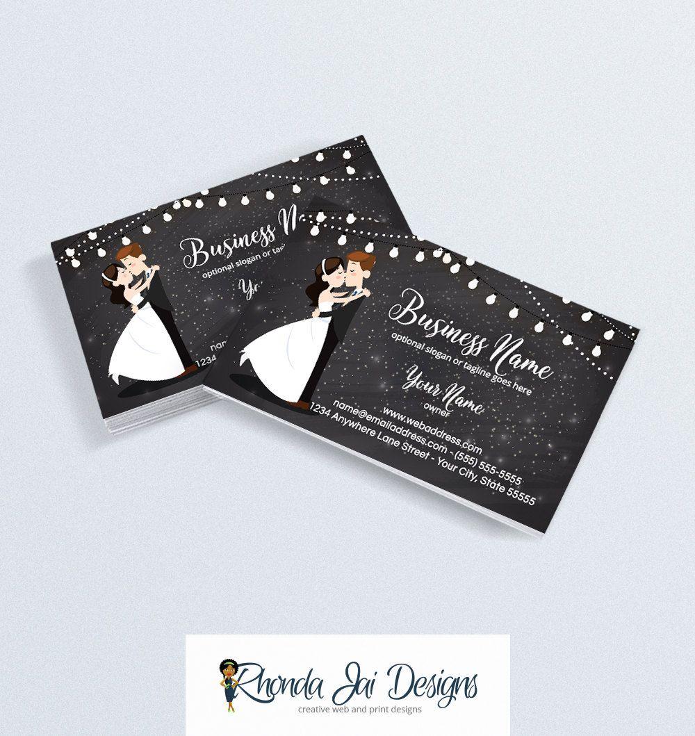 Business Card Designs - Printable Business Card Design - Event ...