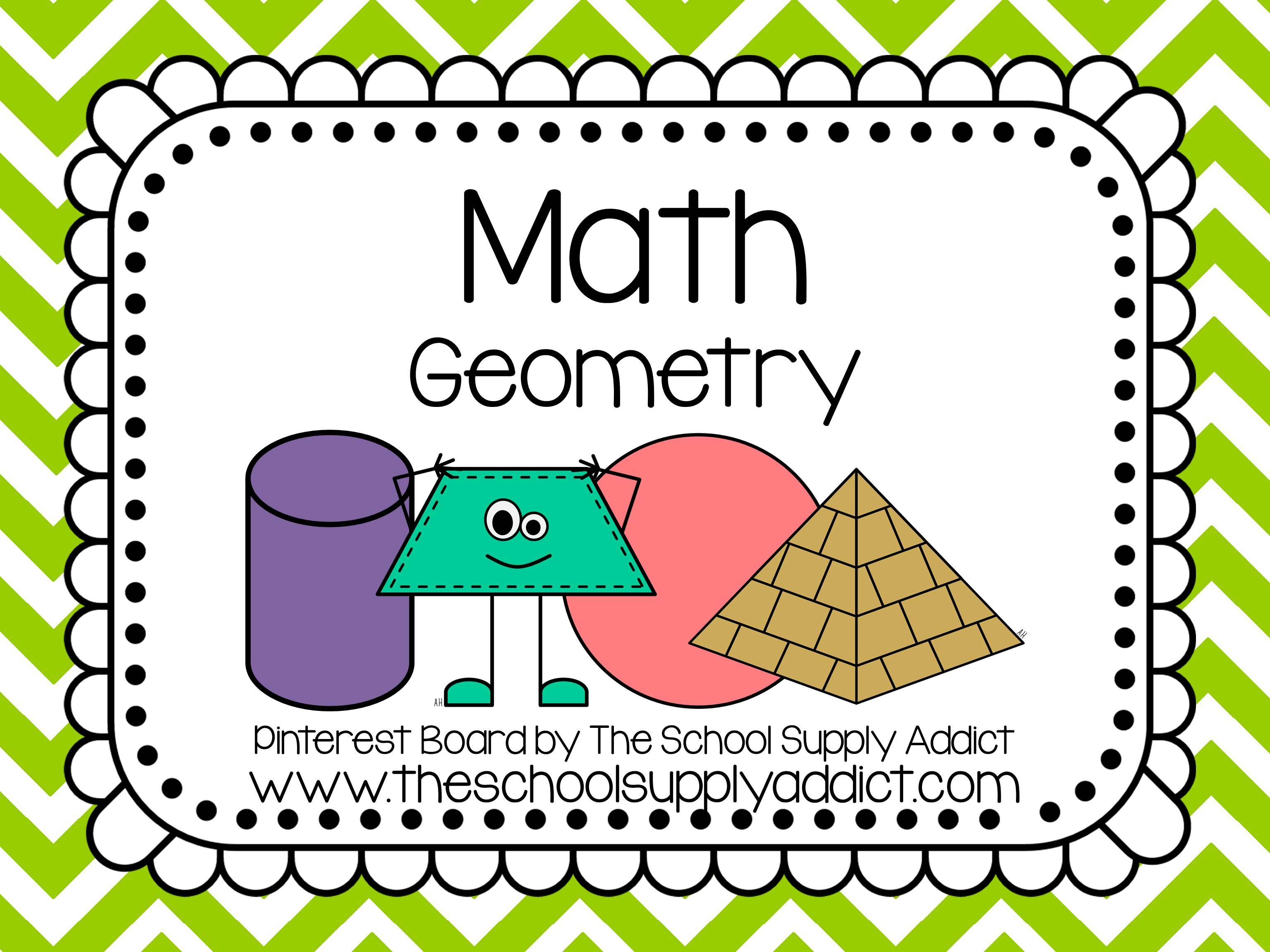 Geometry Pin Board By The School Supply Addict