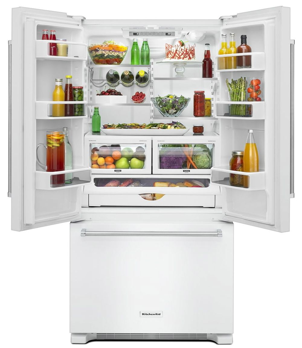 Counter Depth Fridge This 72 Inch Refrigerator Is Three Inches Taller Than A Standard