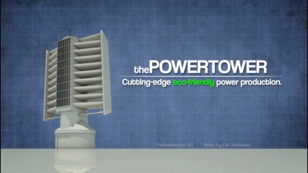 Powertower Windmill Concept Presentation