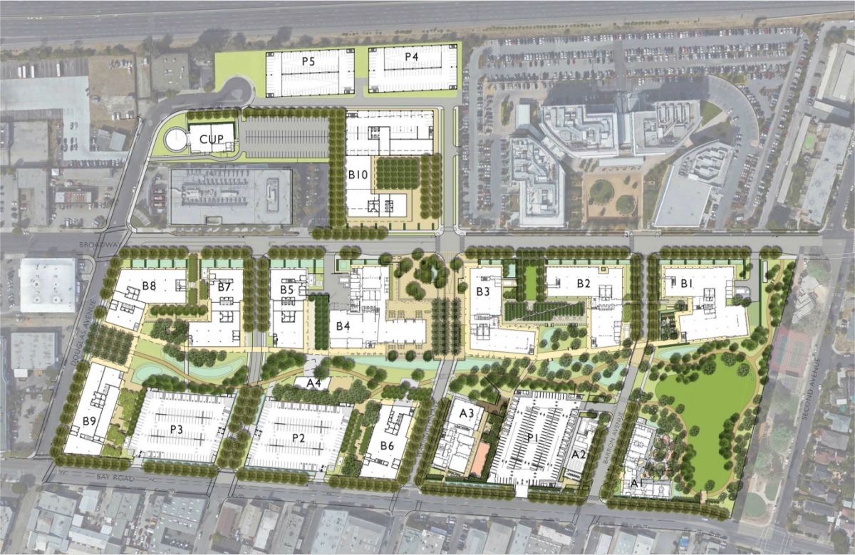 Stanford Redwood City Site Plan Redwood City City Redwood City Site Plan