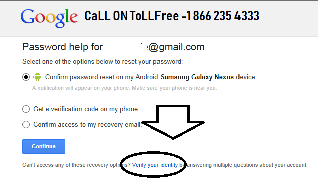 Recover Google Account Password Without Password Username So