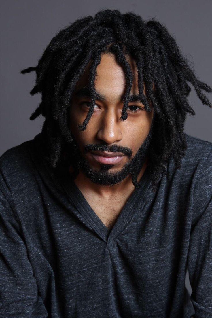 Black Men Dread Hairstyles Panosundaki Pin