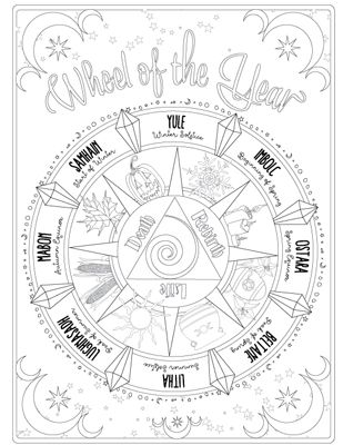 Coloring Book Of Shadows Witch Coloring Pages Book Of Shadows Printable Coloring Pages