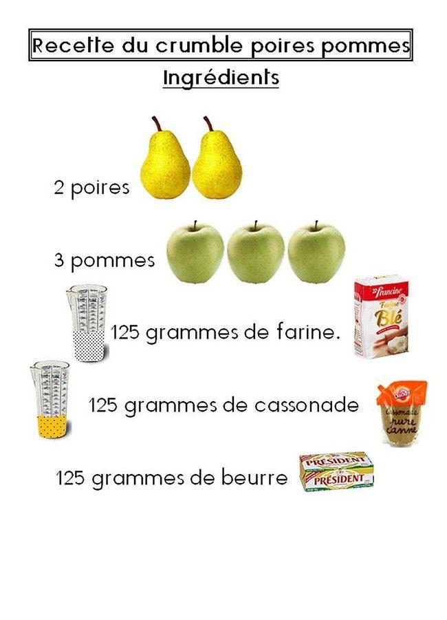 Septembre recettes pinterest automne maternelle - Atelier cuisine maternelle ...