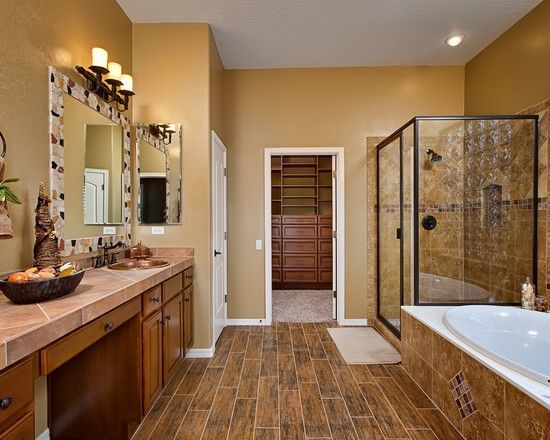 Bathroom southwestern design pictures remodel decor and - Southwestern home design and remodeling ...