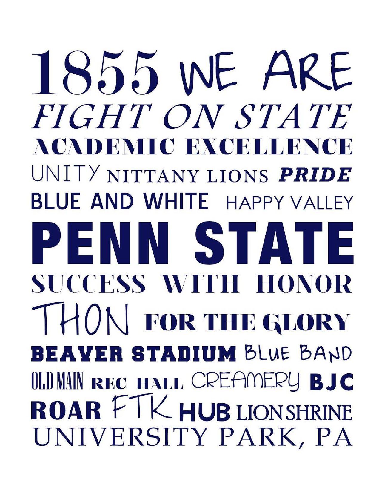 Family Clothesline Coupon Code Penn State University College Custom Family Monogramtrmdesign