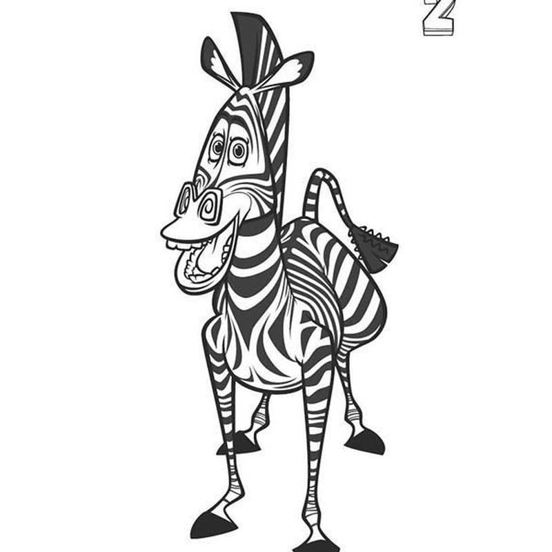 Zebra Coloring Pages Free Printable Zebra Coloring Pages Shark Coloring Pages Unicorn Coloring Pages
