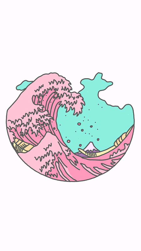 Pink Aesthetic And Art Image Vaporwave Wallpaper Art Iphone Wallpaper