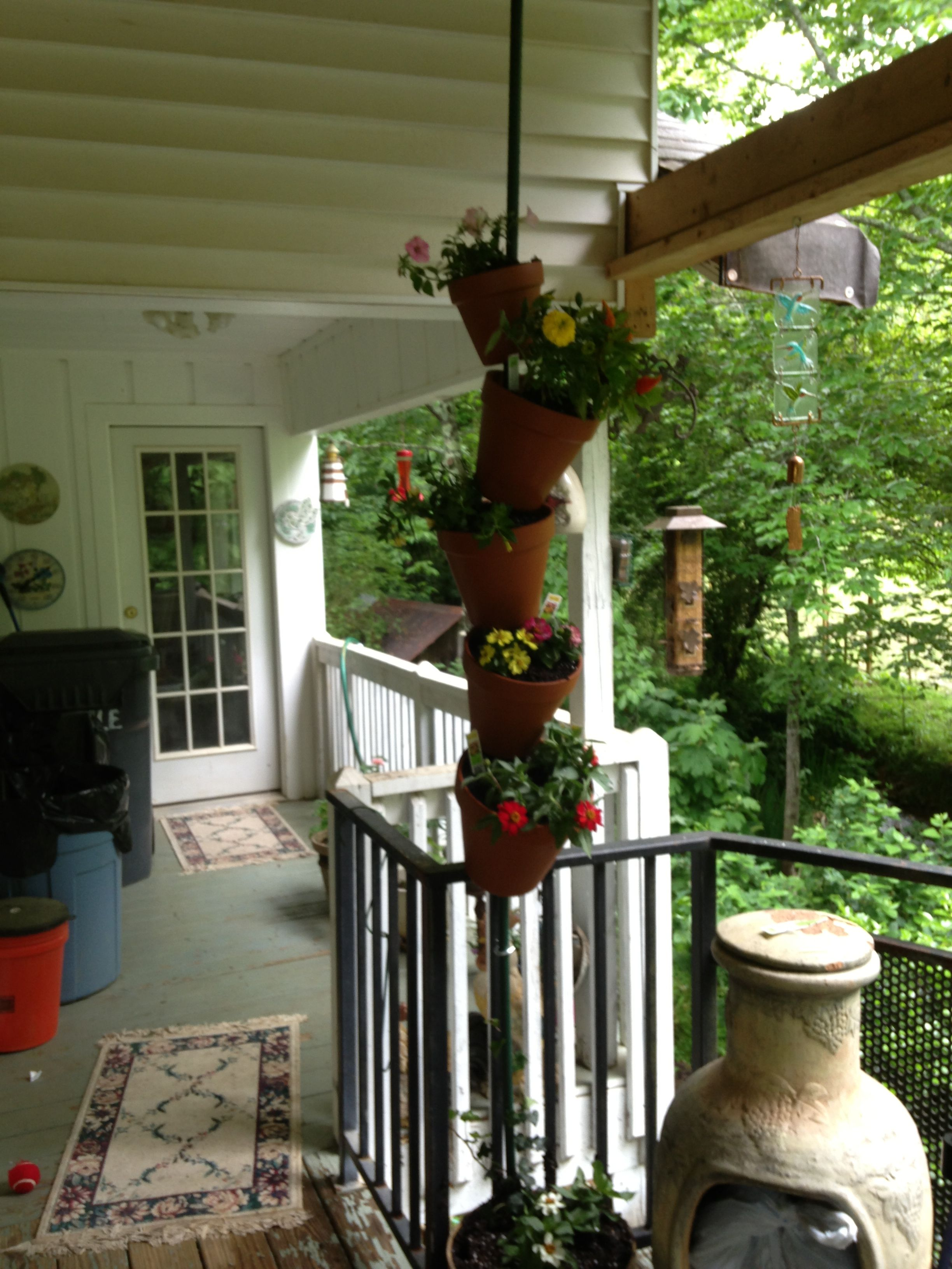 My version of stacked pots :)