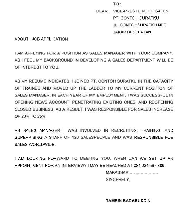contoh surat formal invitation dalam bahasa inggris