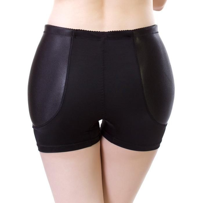 a93b52bd6 Fake Hip Pads Womens Knickers Padded Underwear Hip Padding Enhancer  Abundant Ass Butt Shaper Underpants M