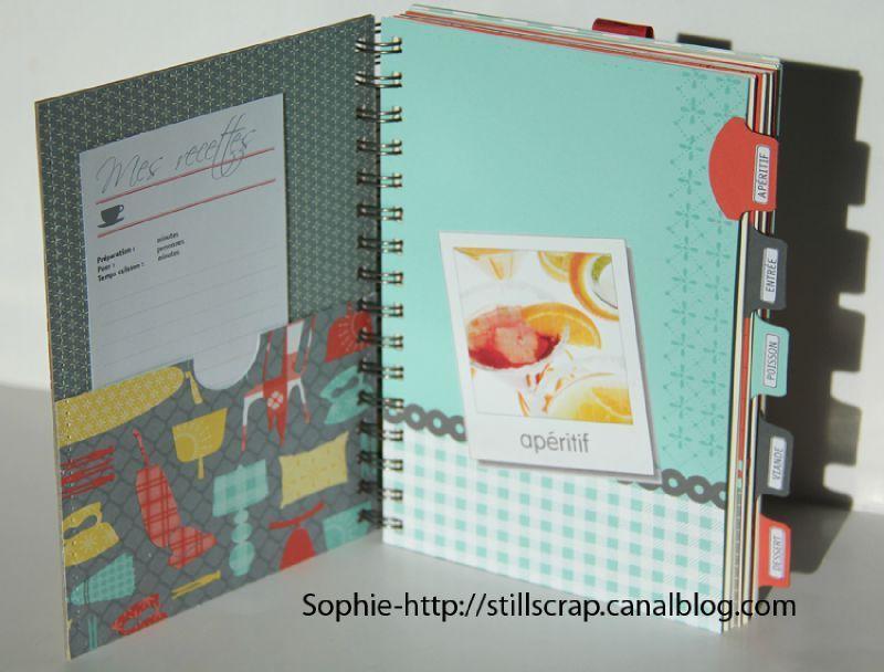 livre de recettes still scrap de soph recettes de cuisine livre de recette et classeurs de