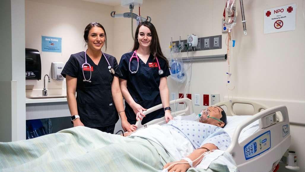 Graduating nursing students wellprepared to pursue their