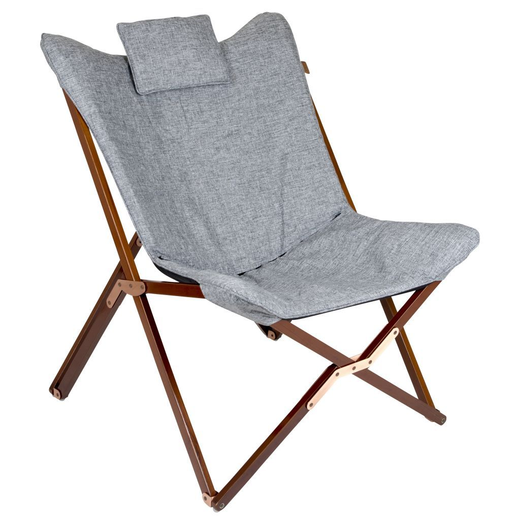 Bo Camp Urban Outdoor Relaxsessel Bloomsbury 78 X 80 X 96 Cm Grau