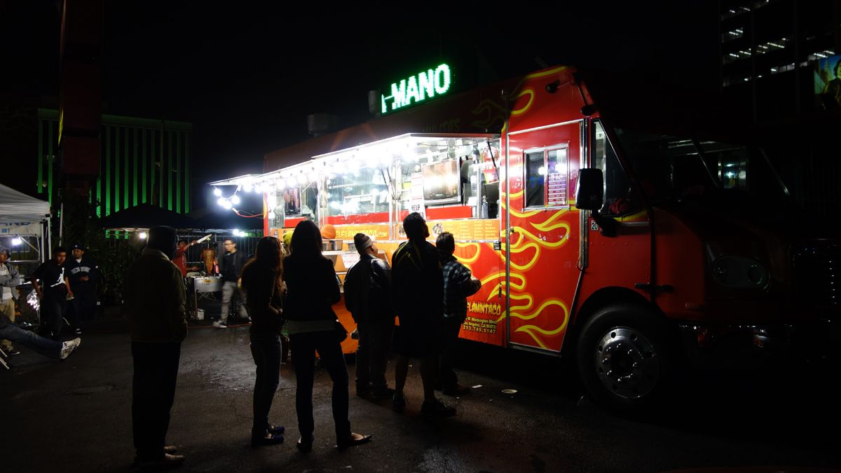 El Flamin' Taco Truck, Koreatown, Los Angeles | California Food ...