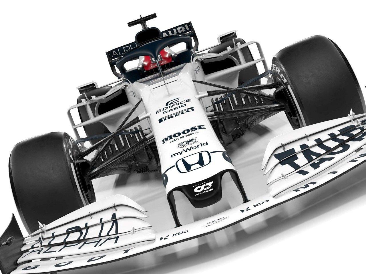 Alphatauri Honda At01 F1 2020 2020 レッドブルレーシング