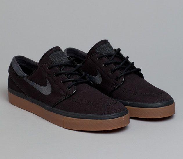 Nike Sb Stefan Janoski Low Black Gum Medium Brown Anthracite Sneakers Men Fashion Nike Janoski Nike Shoes