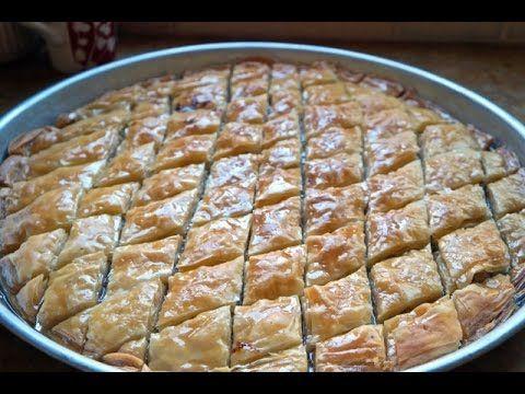 Turkish baklava dough from scratch fatemahisokay turkish baklava dough from scratch fatemahisokay youtube forumfinder Choice Image