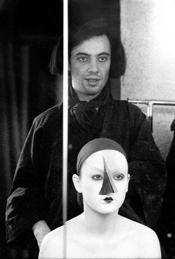 Serge Lutens Human icon, Photography, Artist at work
