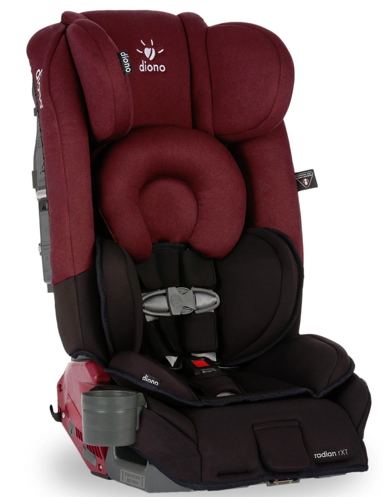 Diono Radian RXT Black Cobalt Convertible + Booster Folding Car Seat ...