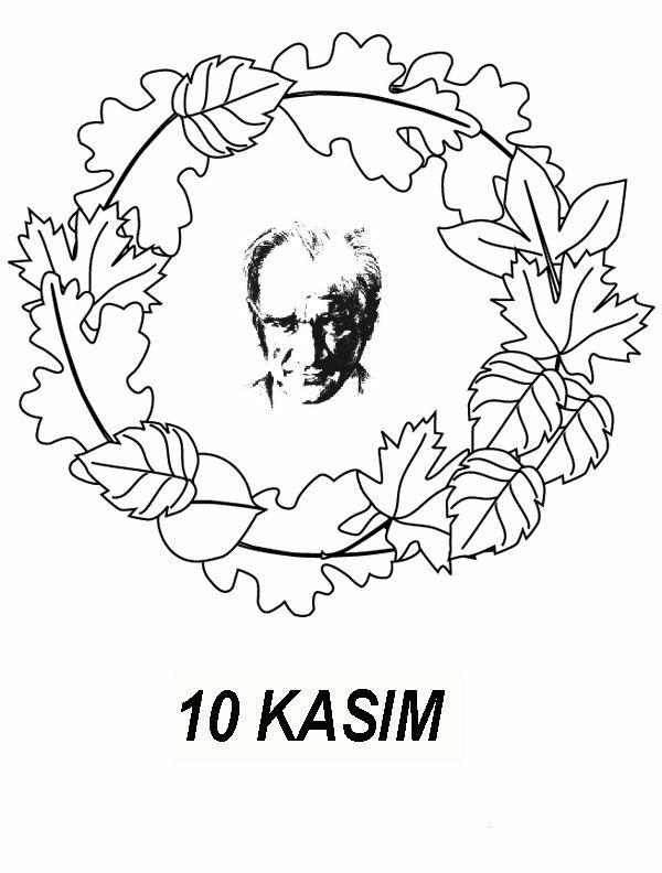 10 Kasım Boyama Resimleri öğrenciler Için Atatürk Preschool