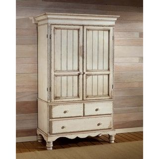 Shop For Hillsdale Wilshire Armoire And More For Everyday Discount Prices  At Overstock.com