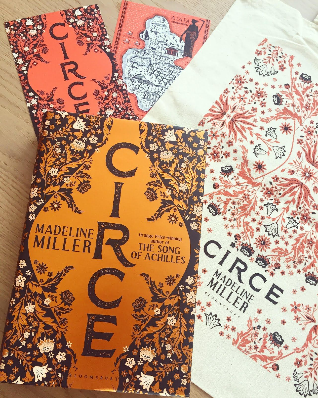 Circe By Madeline Miller Released April 19th Bloomsbury