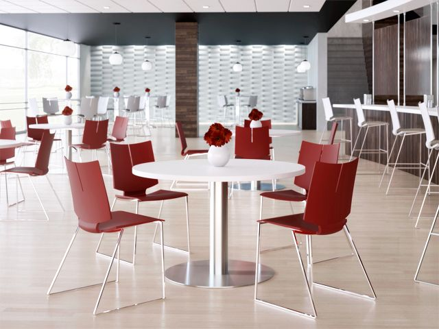 Breakroom Furniture By Versteel Quanta Hd Chairs Are Lightweight