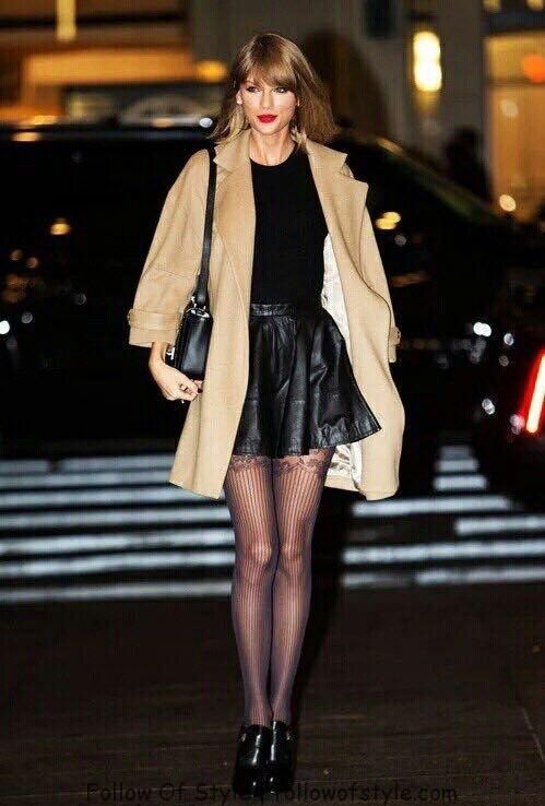 Taylor Swift And Her Awesome 37 Street Style Outfits Taylor Swift And Her Awesome 37 Street Style Outfits Street Style