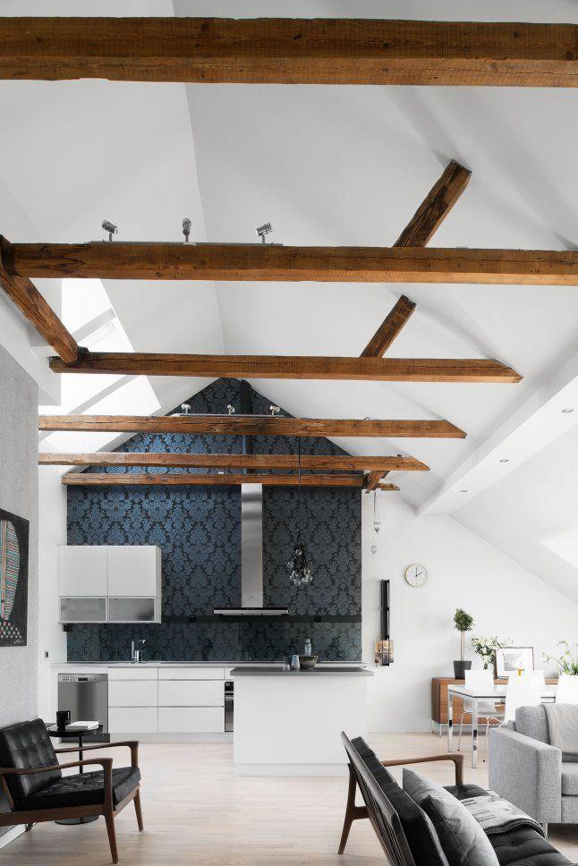 Un loft en noir et blanc (PLANETE DECO a homes world) Cuisine, Un