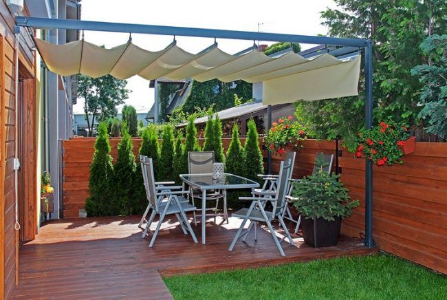 Überdachte Terrasse - 50 Top-Ideen für Terrassenüberdachung - markisen fur balkon design ideen