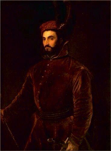 Portrait of Ippolito de Medici in a Hungarian Costume - Titian, c.1533, 088/255.