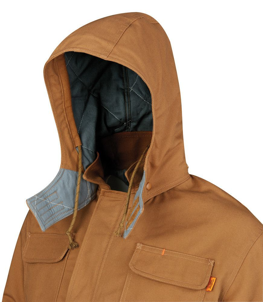 FR Canvas Duck Field Jacket Hood