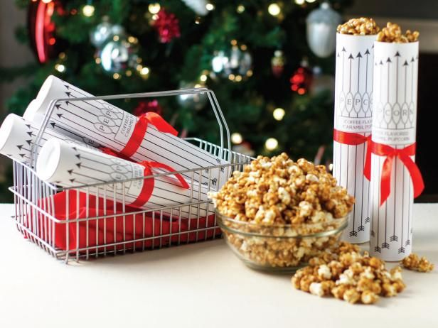 Holiday Food Gift Coffee Caramel Corn Recipe Caramel corn