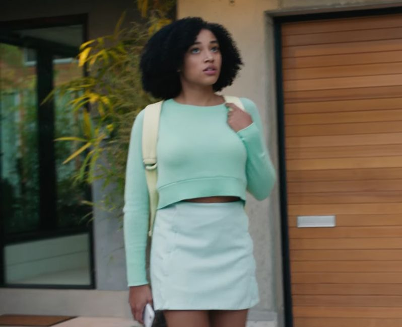 Amandla Stenberg Short Dress
