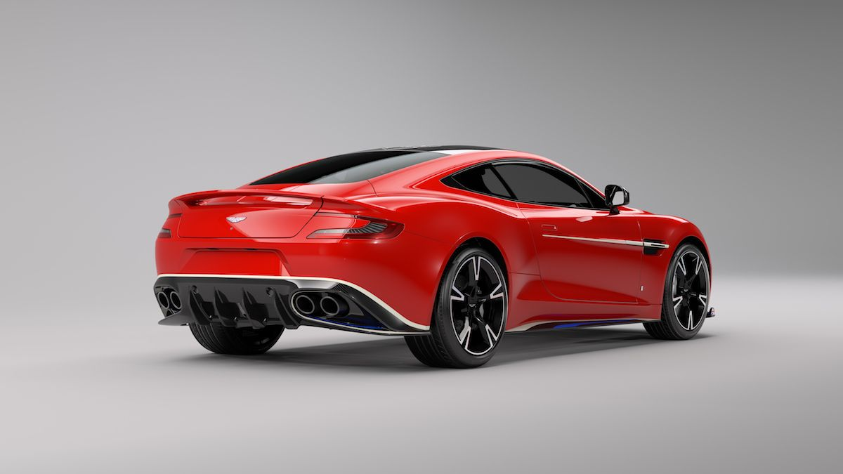Limited Edition Aston Martin Vanquish S Takes Inspiration From The Royal Air Force S Red Arrows Aston Martin Vanquish Superauto Autos Und Motorräder
