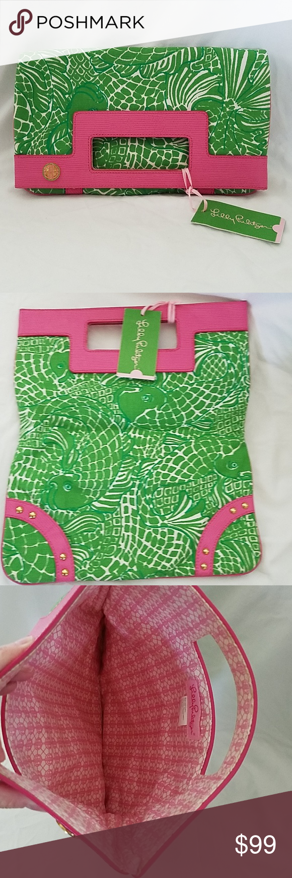 Lilly Pulitzee Pack it Up Marco Polo Purse NWT