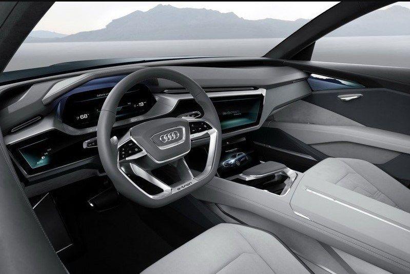 2020 Audi Q6 E Tron Dashboard Audi Tron Elektroauto