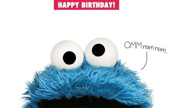 It S Cookie Monster S Birthday Happy Birthday Cookie Monster Cookies Cookie Monster Birthday