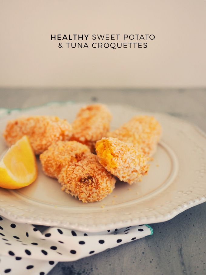 Healthy sweet potato tuna croquettes recipe naya food recipes check out this healthy dinner idea its a healthy sweet potato tuna croquettes recipe the kids can help cook and then help eat yum forumfinder Choice Image