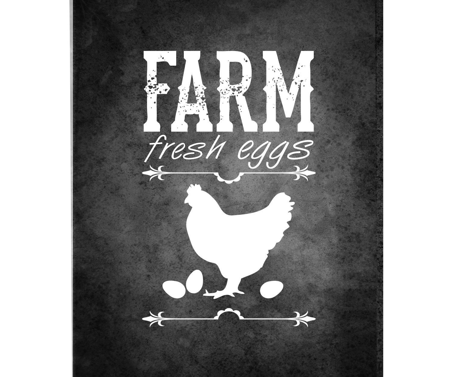 Printable kitchen art - Printable Fresh Eggs Chalkboard Sign Kitchen Printables Kitchen Chalkboard Chalkboard Sign Farmhouse