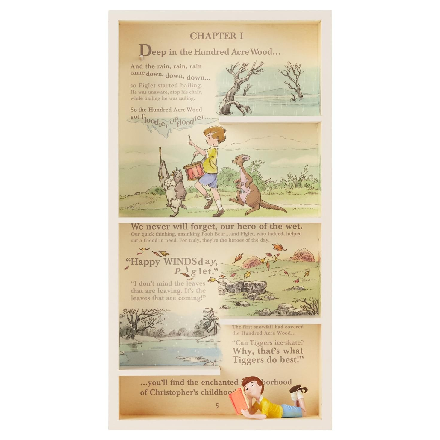 Decorative Display Cases Winnie The Pooh And The Honey Tree Limited Edition Shadow Box