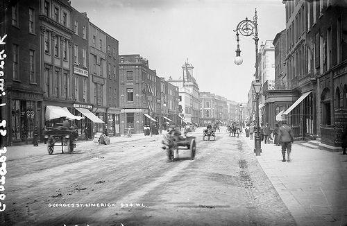 George S Street Limerick Limerick City Limerick Street Scenes