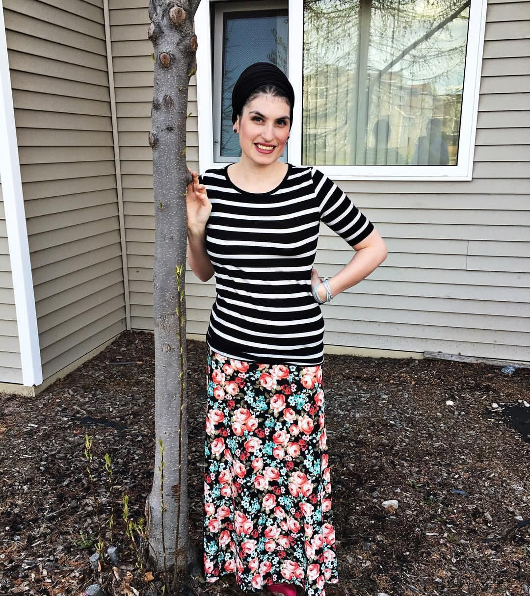 Julia and Maxi  Florals and stripes strike again!   Style - Lularoe