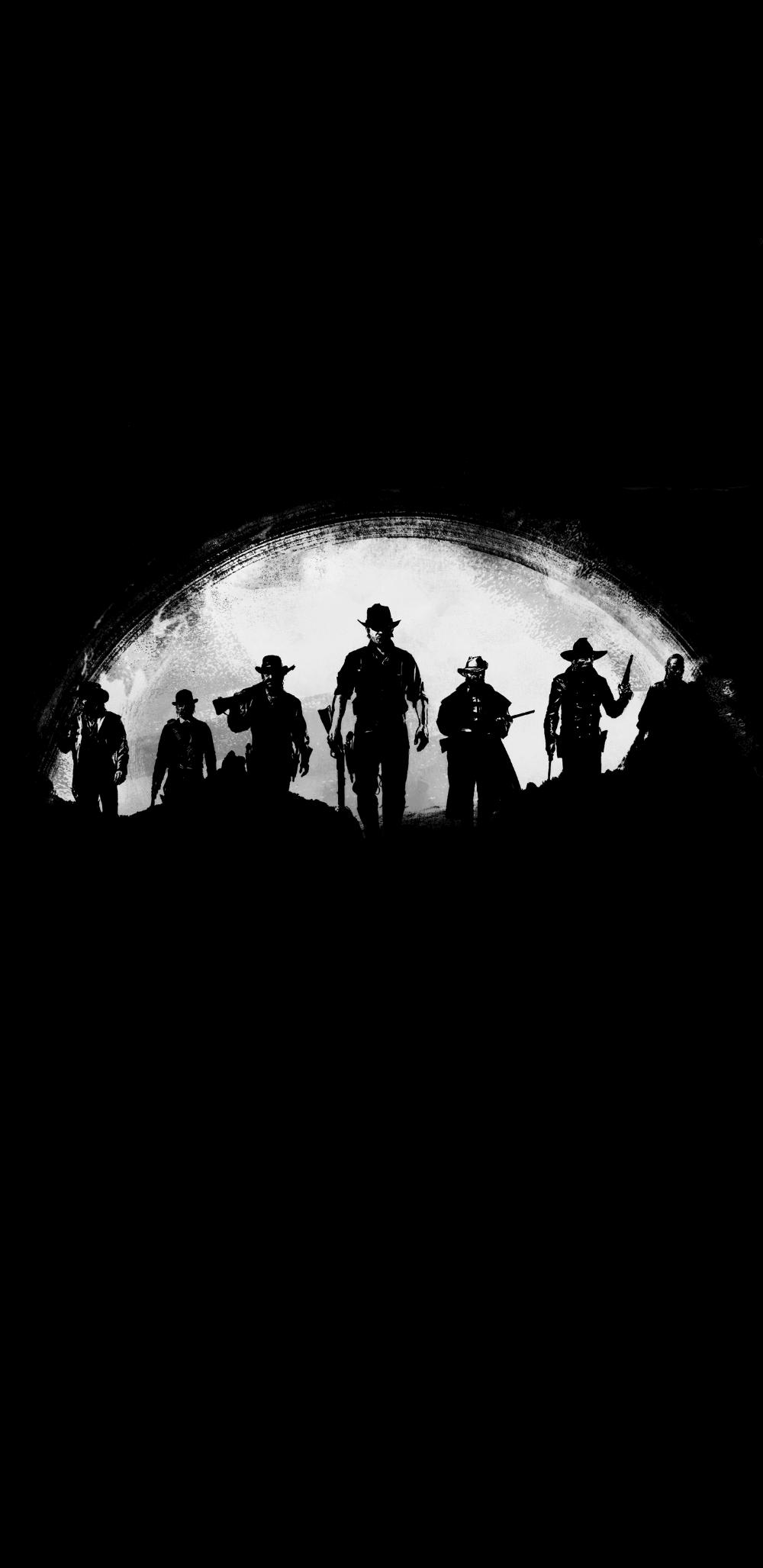 Red Dead Redemption 2 Black En 2020 Fondo De Pantalla Samsung