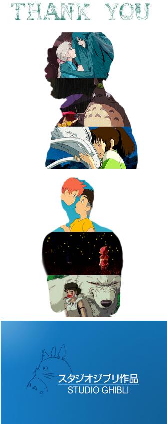 Thank you, Hayao Miyazaki